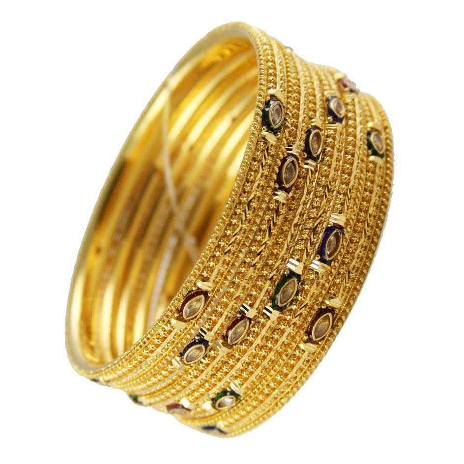 fashion2teen: Golden Bangles