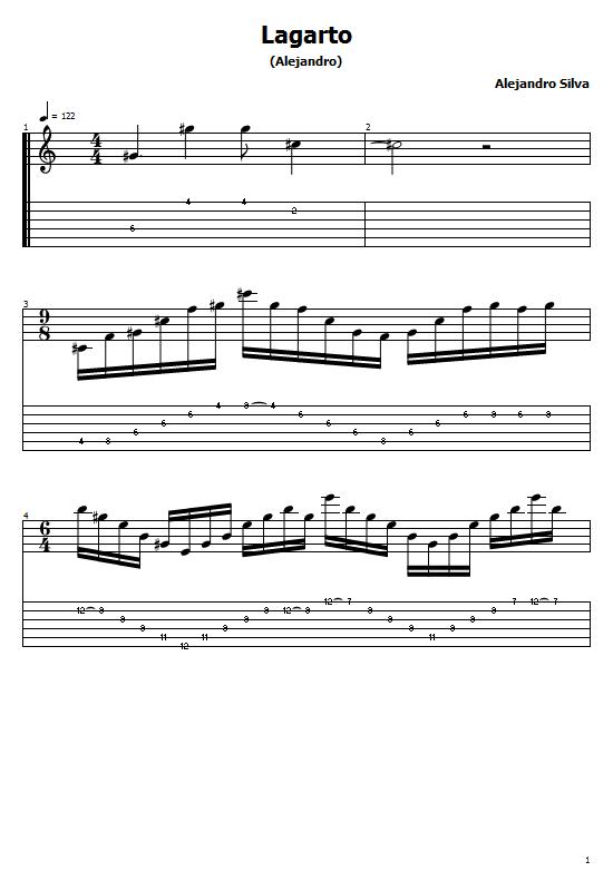 El Lagarto Tabs Alejandro Silva. How to Play El Lagarto On Guitar, Alejandro Silva - El Lagarto Tabs / Alejandro Silva Free Guitar Tabs. Alejandro Silva - El Lagarto