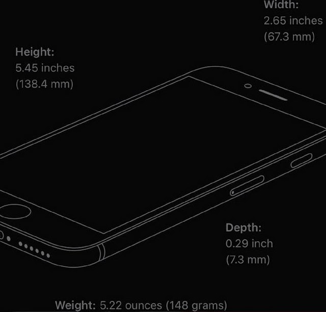 iPhone SE Tech Specs Apples: the latest released