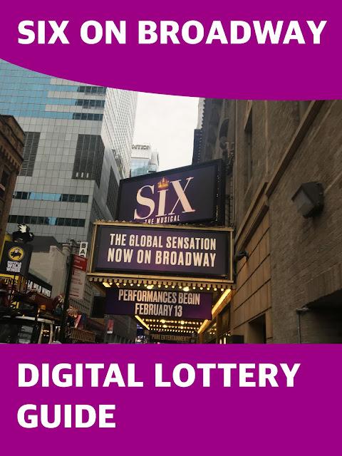 Six On Broadway Digital Lottery Guide