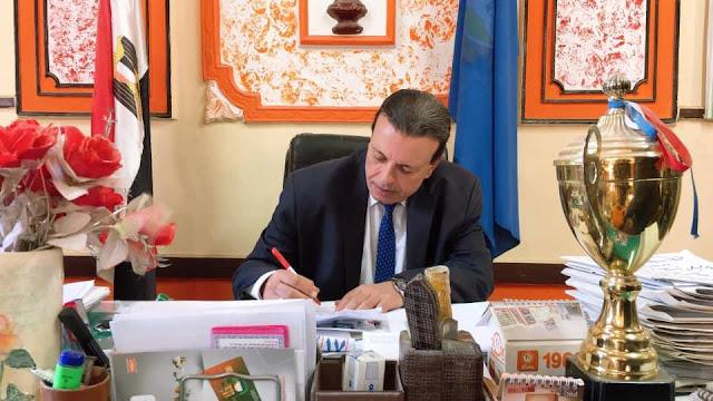 """""""البستاوى"""" مديرًا لمدرسة الشهيد حيدر دبوس التجارية بنات بإيتاى البارود"""