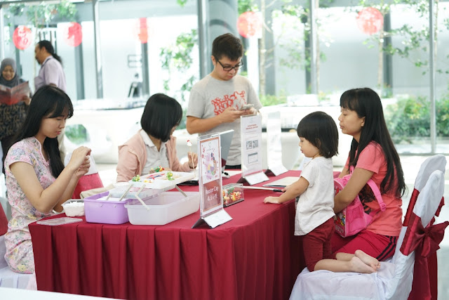 The Rooster Clay making booth was a popular choice for young visitors and their parents