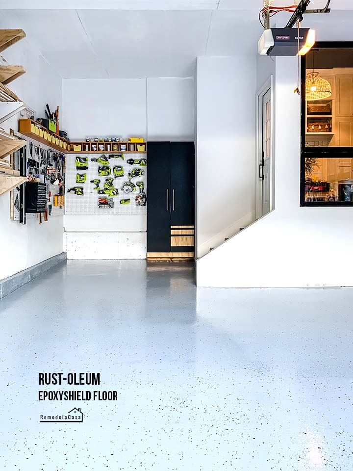 How to epoxy your garage