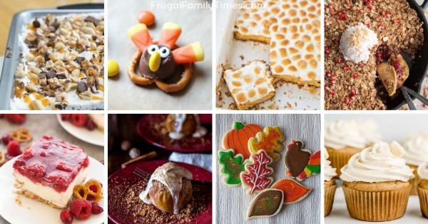 thanksgiving desserts not pumpkin