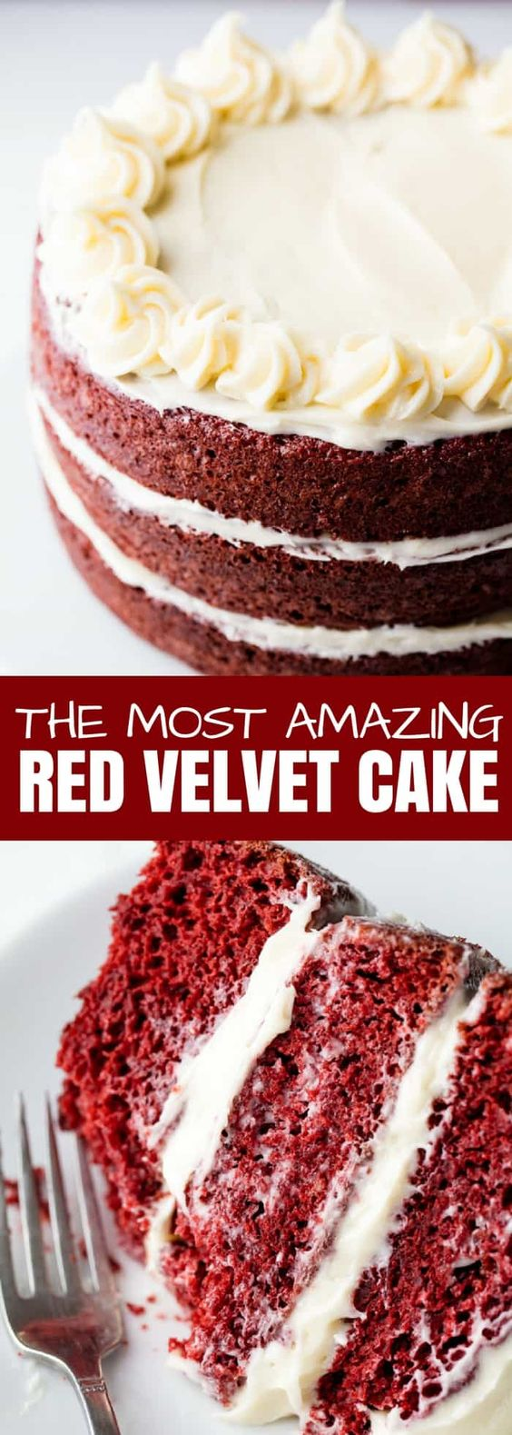 The Most Amazing Red Velvet Cake