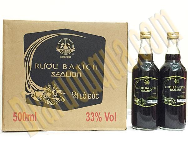 Thùng rượu Ba Kích Sealion 500ml