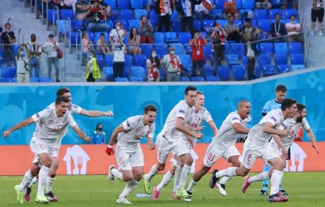 Spanyol berhasil masuk ke Semifinal Euro 2020, Sommer berjasa mengantarkan Swiss ke Adu Penalti
