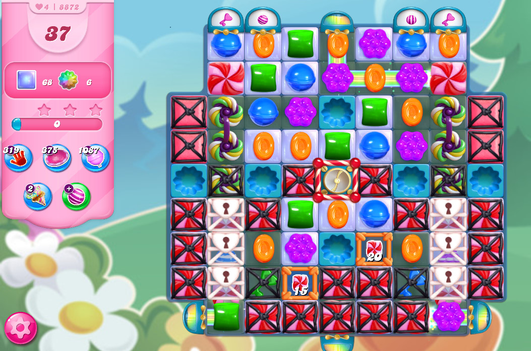 Candy Crush Saga level 8872