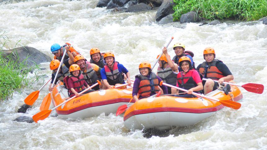 Cobain Wisata Ekstrim Kasembon Rafting, yuk! | Wisata Malang