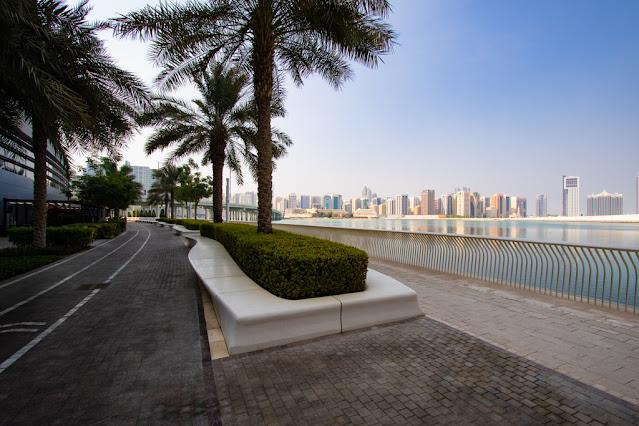 Abu Dhabi promenade