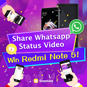 Whatsapp Status Video Contest Win Three Redmi Note 5