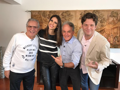 Carlos Alberto, Cris Flores, Mesquita e Carlos Bertolazzi (Foto Gabriel Cardoso)