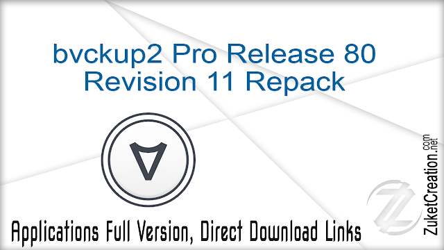 bvckup2 Pro Release 80 Revision 11 Repack