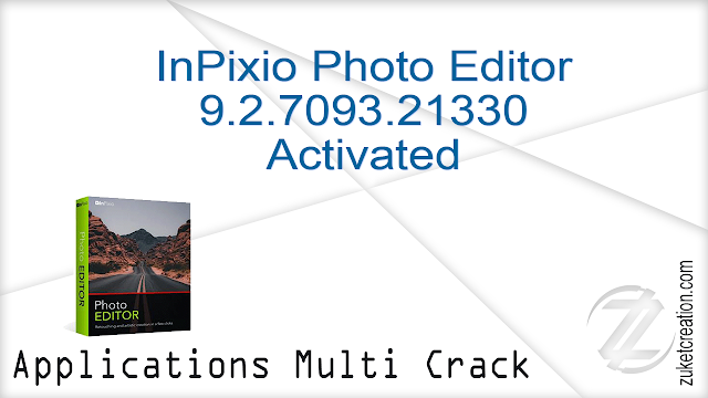 InPixio Photo Editor 9.2.7093.21330 Activated   |  122 MB