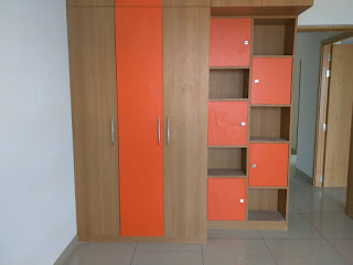 Bedroom Wardrobe with Storage
