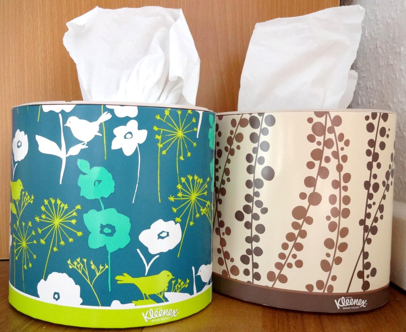 Kleenex Kosmetiktücher-Boxen