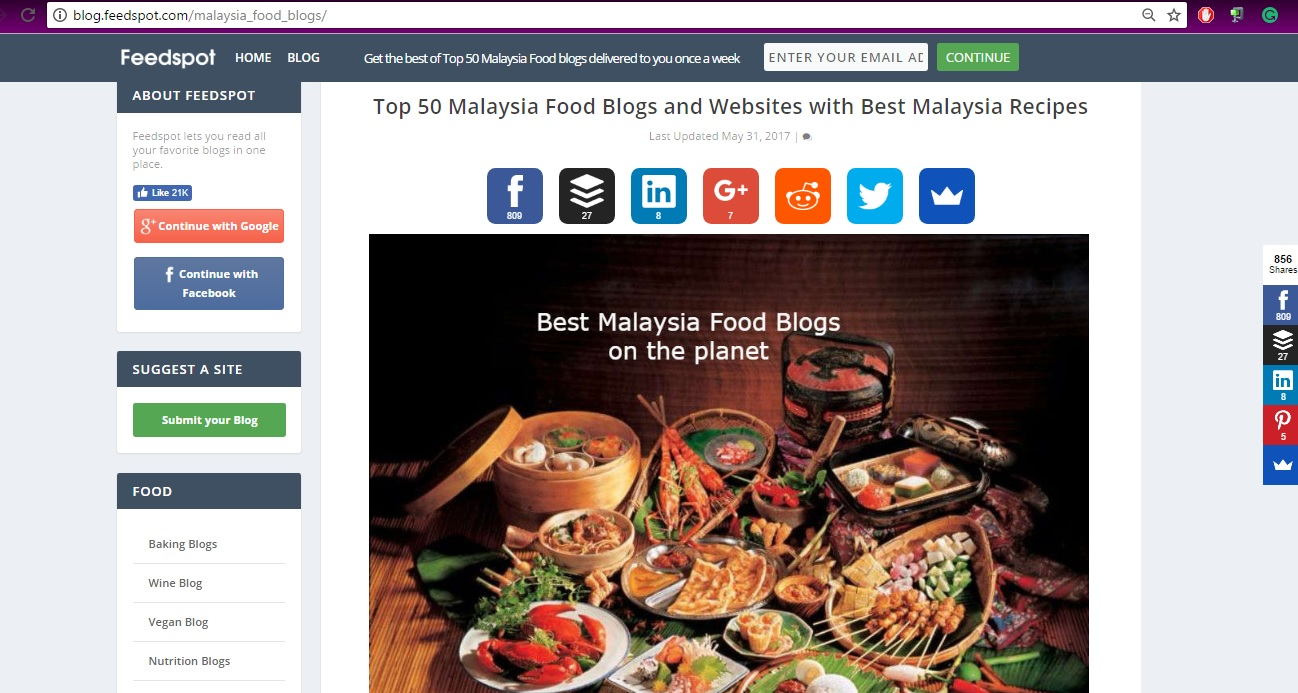 Follow me to eat la malaysian food blog followmetoeatla food blog followmetoeatla food blog awarded the top 50 malaysia food blog award forumfinder Choice Image