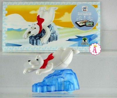 Медведица на льдине Kinder Maxi Polar Bears DVB15