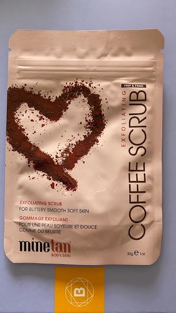 Minetan Coffe Scrub