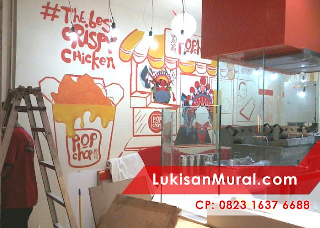 jasa mural cafe terbaik