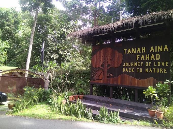 Tenangkan Fikiran Di Tanah Aina Fahad, Pahang