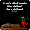 Let Love Be Without Hypocrisy... Bible Verse Love...