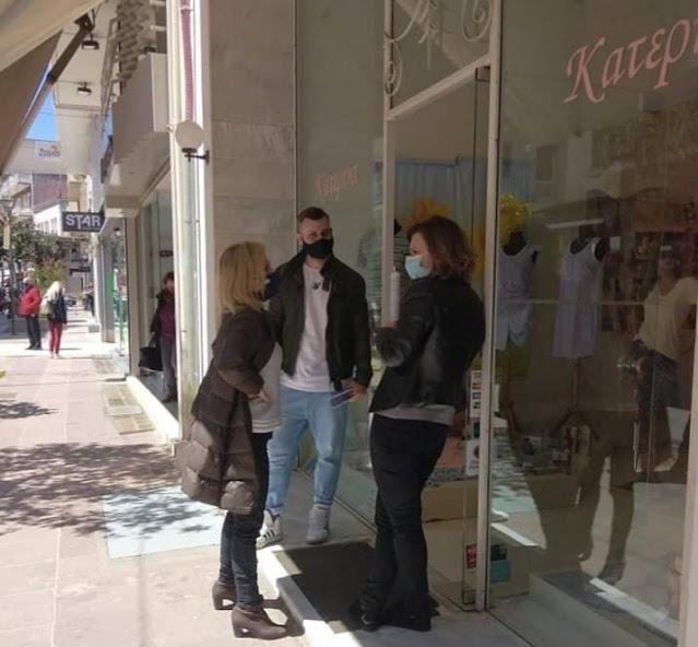 Επίσκεψη και στην αγορά της Λιβαδειάς από τη Βουλευτή ΣΥΡΙΖΑ Ν. Βοιωτίας Γιώτα Πούλου(ΦΩΤΟ)