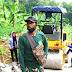 Dadang Perangakat Desa Wanakerta : Saya Ikhlas Bantu Satgas TMMD Dilokasi Hari