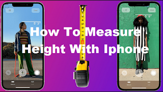 How to measure height with iphone, here's how