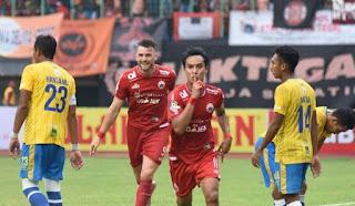 Kalahkan Barito, Persija Ancam PSM di Puncak Klasemen Liga 1 2018