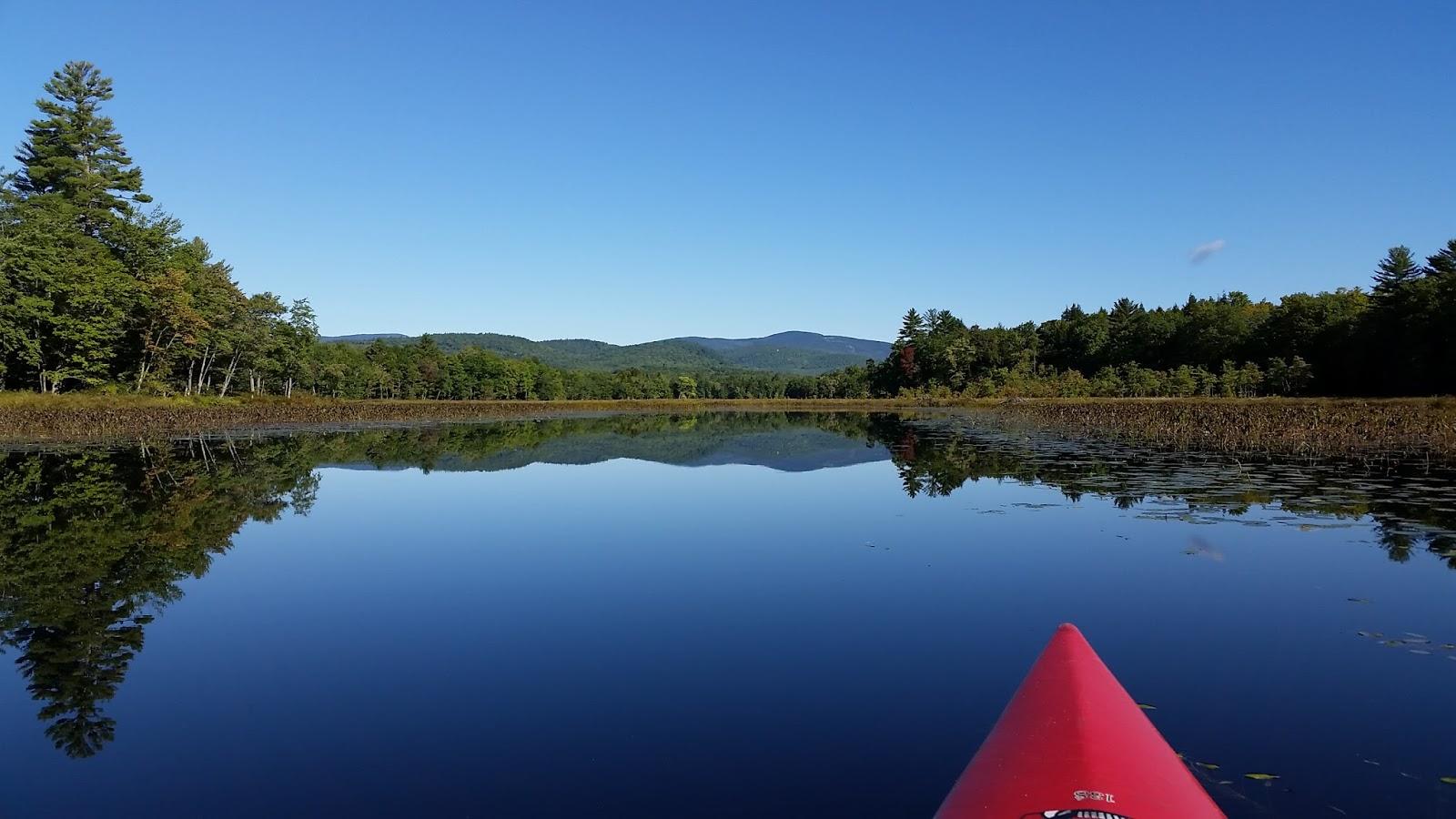 Lovell Maine Map.Recreational Kayaking In Maine Kezar Lake Lower Basin Lovell Me