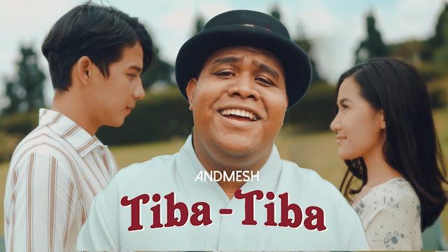 Lirik Lagu Tiba - Tiba Andmesh