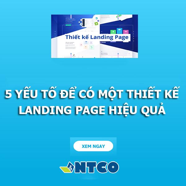 thiet ke landing page