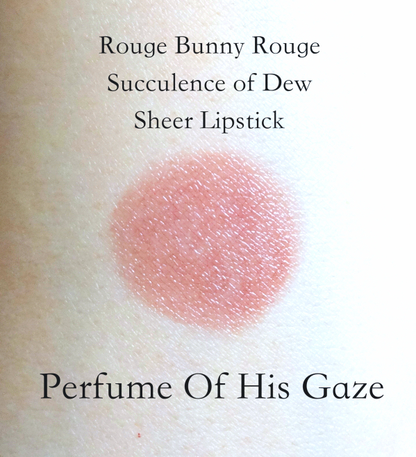 Rouge Bunny Rouge Sheer Lipstick Perfume Of His Gaze swatch