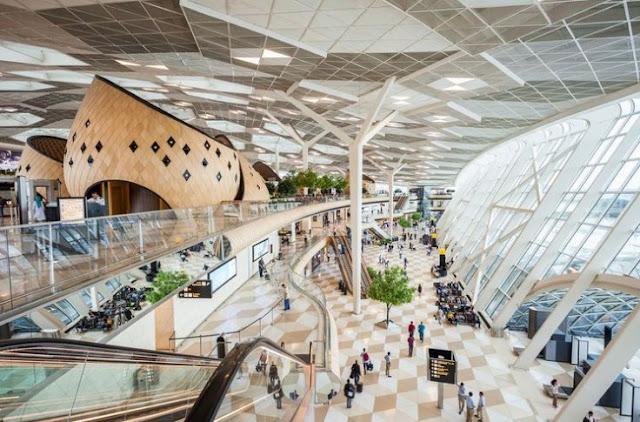 Inilah Bandara Memiliki Desain Terindah Dunia