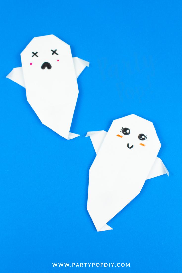 como-hacer-un-fantasma-de-papel