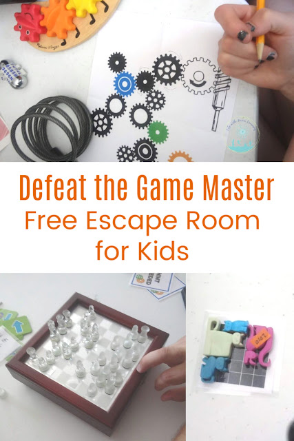 Improve Logic with this Games Gone Wrong Escape Room for Kids