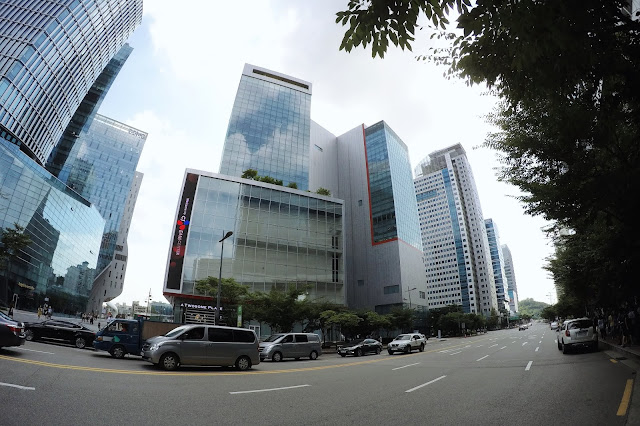 CJ E&M Building at Digital Media City (디지털미디어시티)