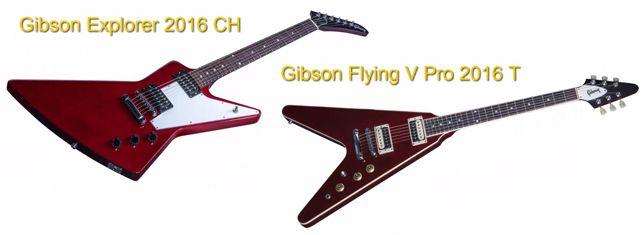 Gibson Explorer 2016 CH Vs Gibson Flying V Pro 2016 T
