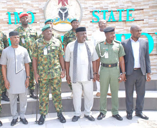 Heavy Presence Of Soldiers In Owerri; Okorocha Appeals To Imo Citizens Not To Panic 1