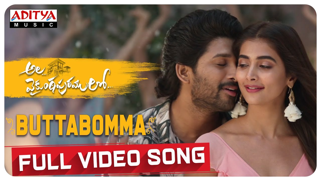 Butta Bomma Song Lyrics In Hindi