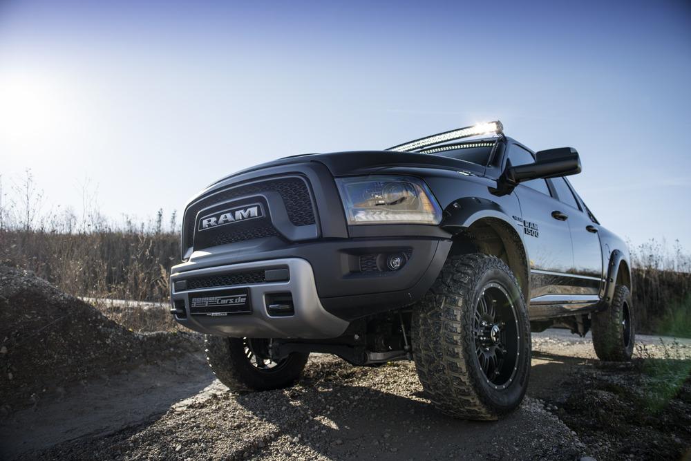 Giải pháp tăng sức mạnh cho Dodge Ram Rebel 2015