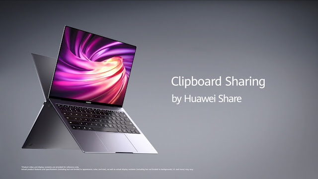 Huawei MateBook X announced with pressure-sensitive touchpad, 1kg weight.