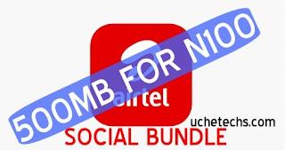 Airtel 500MB Social Bundle