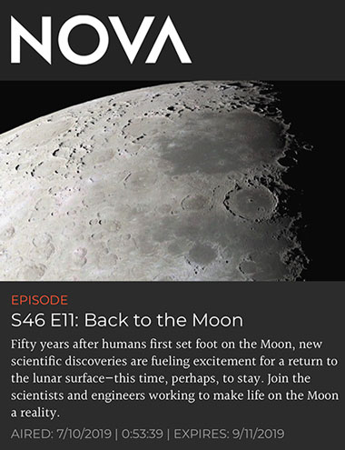 NOVA episode explains how finding water on the moon is key discovery (Source: NOVA, S46, E11)