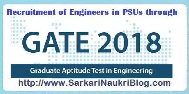 Naukri Vacancy Recruitment  in PSU by GATE 2018