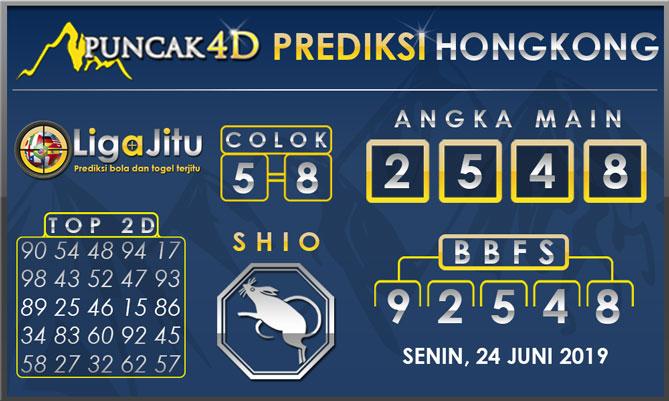 PREDIKSI TOGEL HONGKONG PUNCAK4D 24 JUNI 2019