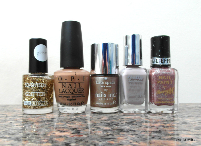 One Little Vice Beauty Blog: My Winter Polish Picks