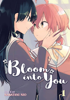 Portada de Bloom Into You de Nio Nakatani