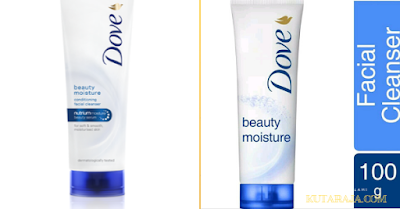 DOVE BEAUTY MOISTURE FACIAL FOAM Daily Facial Foam